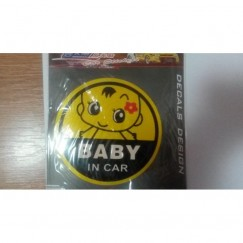 Abtibild / Sticker Baby on board