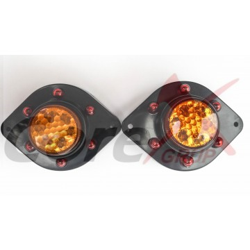 Lampa semnalizare laterala cu led 24V