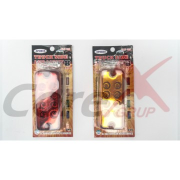 Lampa semnalizare laterala cu led 24V SLD105