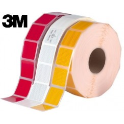 Banda reflectorizanta intrerupta adeziva E1 3M