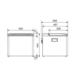 Gas/12/230V, 30mbar D, 40L