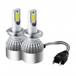 Bec led C6 30w 7800 lumeni H7