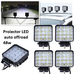 Proiector led auto OFFROAD  48W 12V-24V