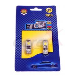 Bec led T10 3 SMD Canbus