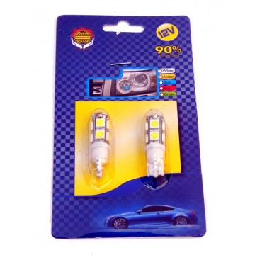 Bec led T10 9 SMD