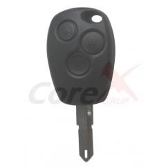 Carcasa cheie Renault 3 butoane