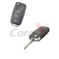 Carcasa cheie Volkswagen 3 butoane