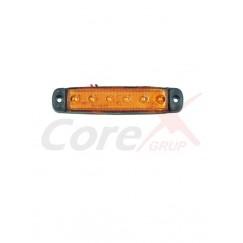 Lampa pozitie / semnalizare cu 6 LED 24v
