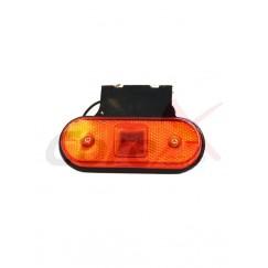 Lampa pozitie / semnalizare cu bec si suport YP38
