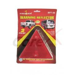 Triunghi reflectorizant remorca 2 buc/set RFT44