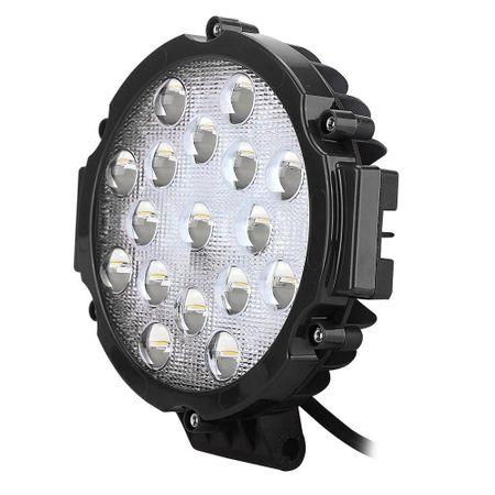 Proiector LED auto off road 51W 12V/24V negru