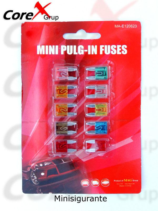 Minisigurante auto 10buc/set