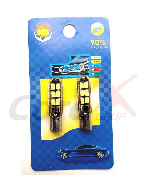 Bec led T10 24 SMD