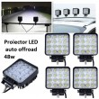Proiector led auto OFFROAD  48W 12V-24V..