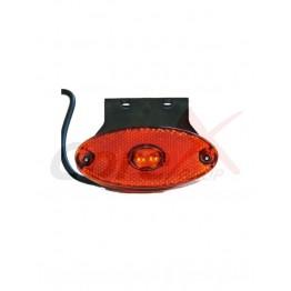 Lampa pozitie / semnalizare cu 2 LED 24v